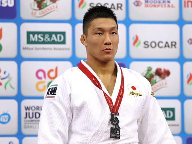 2018年バクー世界柔道選手権大会 男子81kg級 表彰式