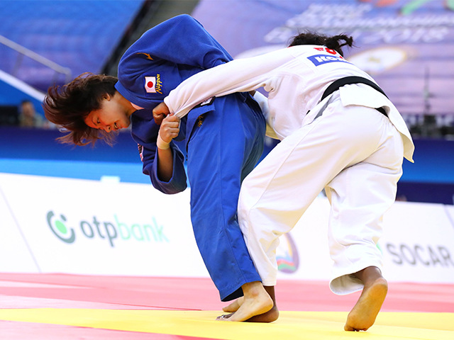 女子63kg級 決勝 田代未来 vs C.AGBEGNENOU