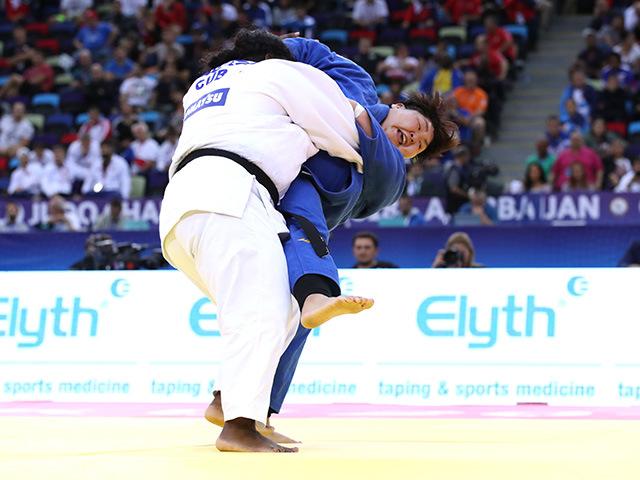 女子78kg超級 決勝 朝比奈沙羅 vs I.ORTIZ