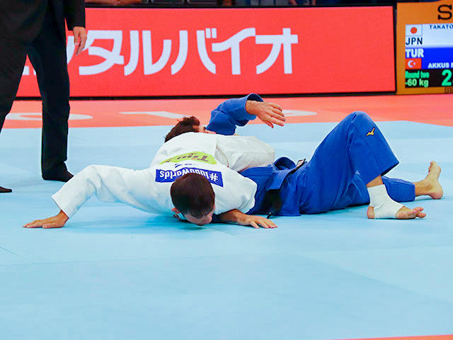 2回戦 高藤直寿 vs M.AKKUS