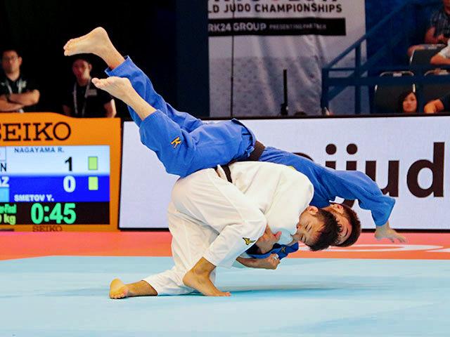 男子60kg級 永山竜樹 vs Y.SMETOV
