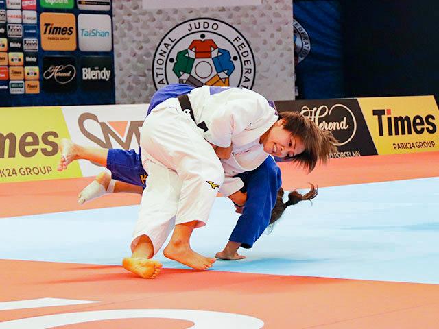 世界柔道2019(世界柔道選手権2019東京大会) 女子48kg級 2回戦 渡名喜風南 vs S.GILIAZOVA
