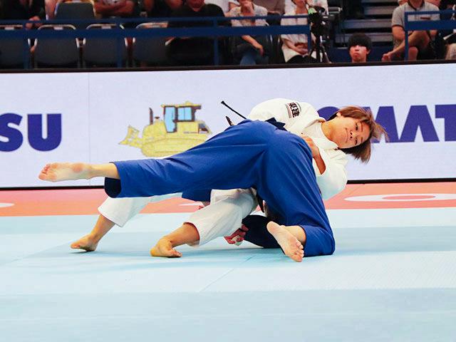 世界柔道2019(世界柔道選手権2019東京大会) 女子48kg級 準々決勝戦 渡名喜風南 vs M.CLEMENT