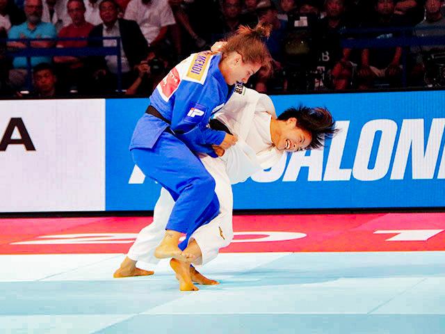 女子52kg級 阿部詩 vs M.KELMENDI