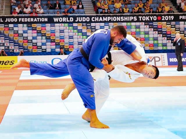 世界柔道2019(世界柔道選手権2019東京大会) 男子73kg級 3回戦 大野将平 vs Y.EYAL SLMAN