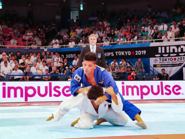 世界柔道2019(世界柔道選手権2019東京大会) 男子73kg級 4回戦 大野将平 vs L.SHAVDATUASHVILI