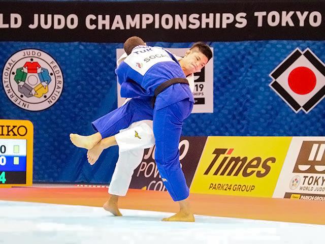 世界柔道2019(世界柔道選手権2019東京大会) 男子73kg級 準々決勝戦 大野将平 vs B.CILOGLU