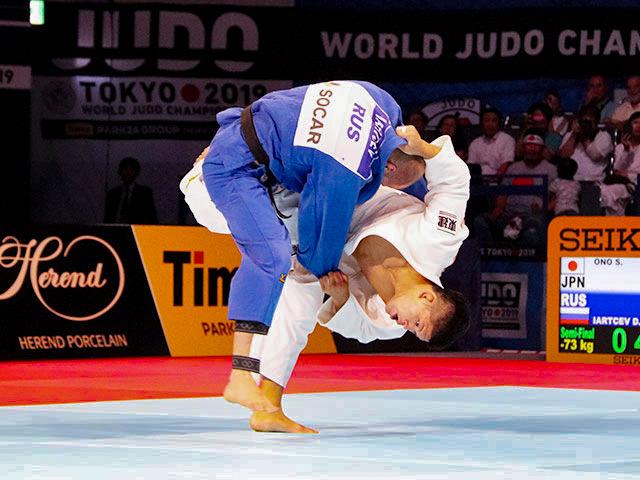世界柔道2019(世界柔道選手権2019東京大会) 男子73kg級 準決勝戦 大野将平 vs D.IARTCEV