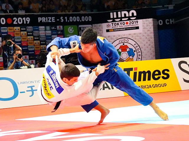 世界柔道2019(世界柔道選手権2019東京大会) 男子73kg級 決勝 大野将平 vs R.ORUJOV