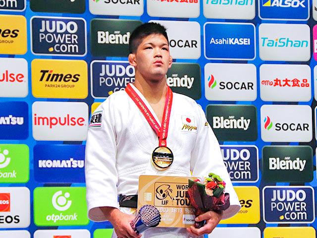 世界柔道2019(世界柔道選手権2019東京大会) 男子73kg級 表彰式 大野将平