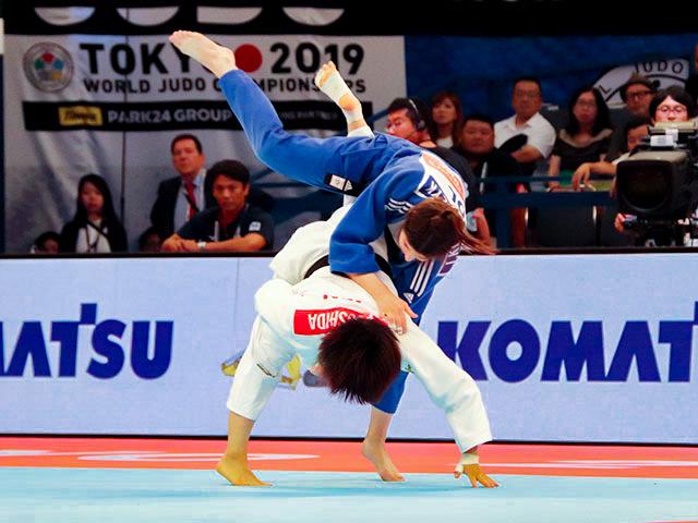 女子57kg級 芳田司 vs J.KOWALCZYK