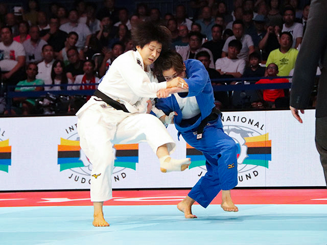 世界柔道2019(世界柔道選手権2019東京大会) 女子57kg級 決勝戦 芳田司 vs C.DEGUCHI�A