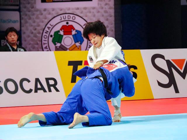 世界柔道2019(世界柔道選手権2019東京大会) 女子57kg級 決勝戦 芳田司 vs C.DEGUCHI�B
