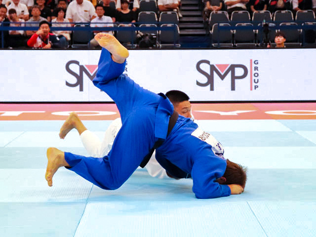 世界柔道2019(世界柔道選手権2019東京大会) 男子81kg級 2回戦 藤原崇太郎 vs S.BOLTABOEV�C