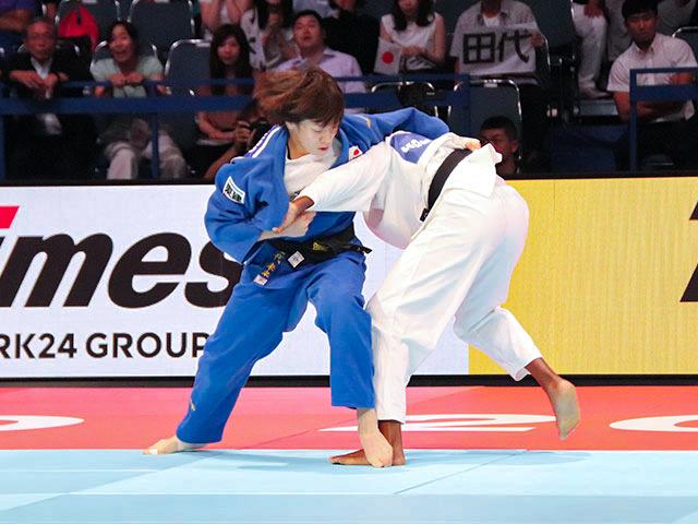 女子63kg級 田代未来 vs C.AGBEGNENOU