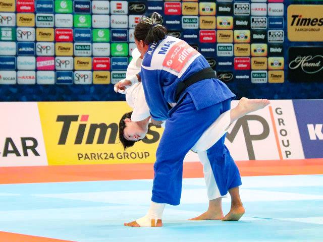 女子70kg級 新井千鶴 vs A.NIANG