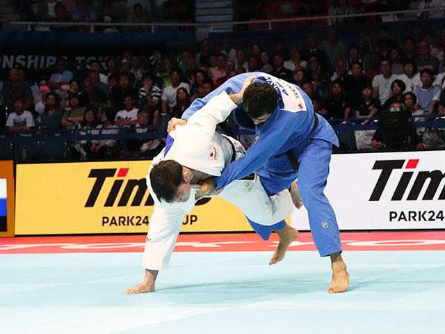 男子100kg級 ウルフアロン vs E.GASIMOV