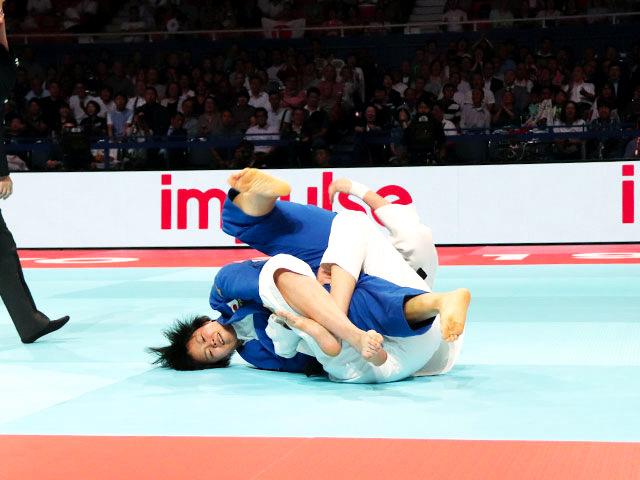 女子78kg級 濱田尚里 vs K.APOTEKAR