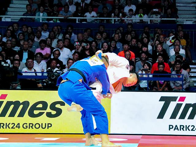 世界柔道2019(世界柔道選手権2019東京大会) 男子100kg超級 決勝戦 原沢久喜 vs L.KRPALEK�@