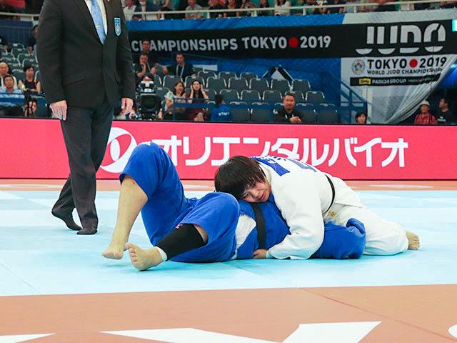 世界柔道2019(世界柔道選手権2019東京大会) 女子78kg超級 2回戦 素根輝 vs M.HAN