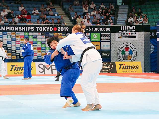 世界柔道2019(世界柔道選手権2019東京大会) 女子78kg超級 準々決勝戦 素根輝 vs L.CERIC