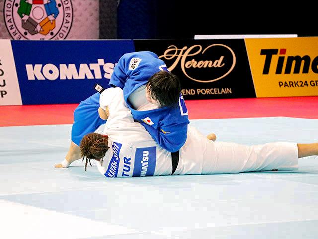 世界柔道2019(世界柔道選手権2019東京大会) 女子78kg超級 準決勝戦 素根輝 vs K.SAYIT
