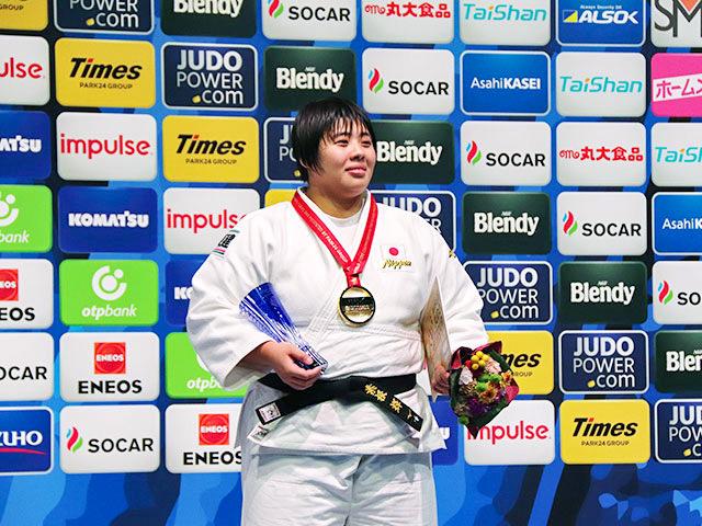 世界柔道2019(世界柔道選手権2019東京大会) 女子78kg超級 表彰式 素根輝