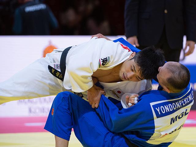 準々決勝 vs 丸山城志郎 vs B.YONDONPERENLEI