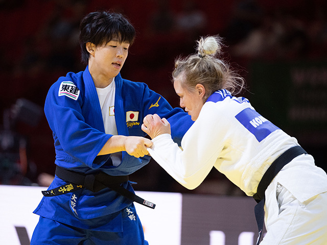 準決勝 大野陽子 vs S.VAN DIJKE②