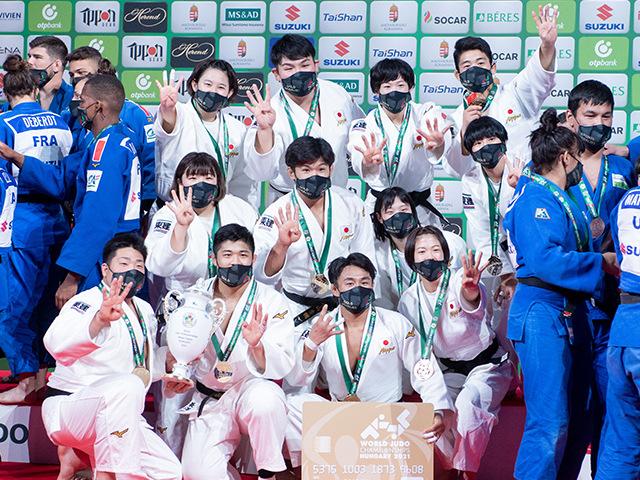 男女混合団体戦 表彰式②