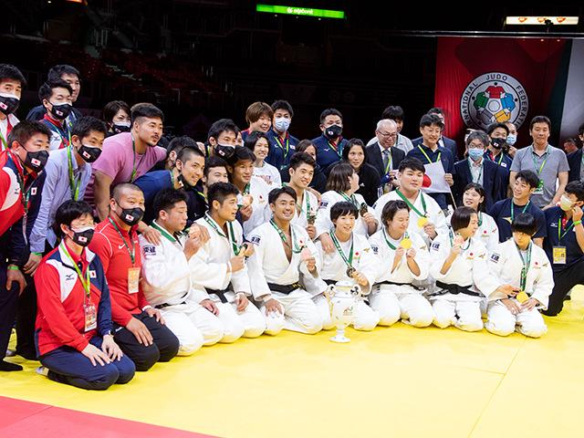 男女混合団体戦 表彰式④