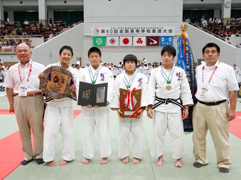 優勝した高岡龍谷高校