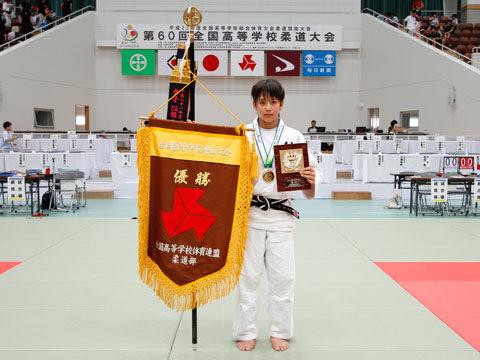 優勝した出口クリスタ選手(松商学園高校)