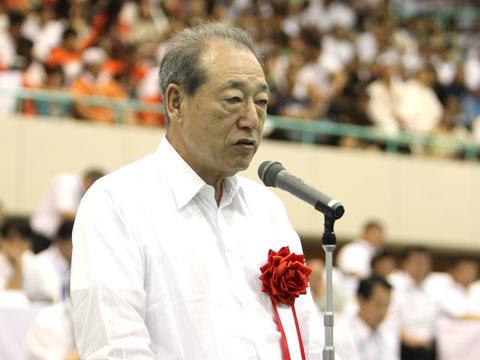 全日本柔道連盟副会長 藤田弘明氏