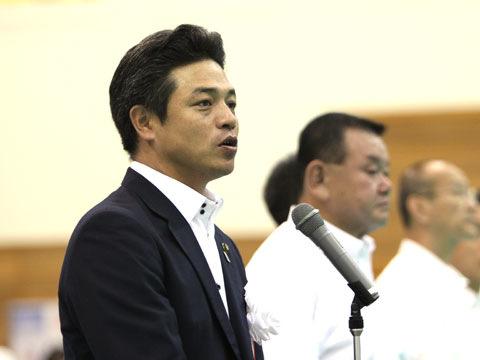 射水市長 夏野元志氏