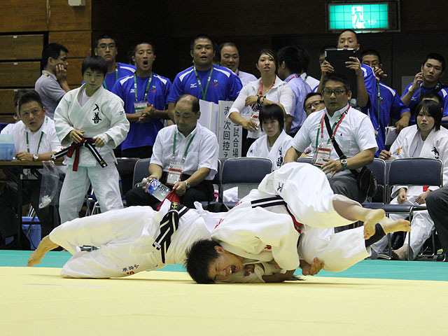48kg級 小倉葵 vs 原田素乃美
