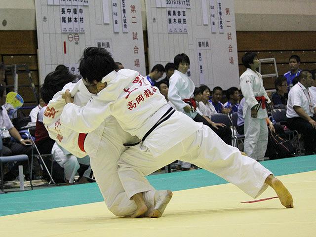 52kg級 上野扇京 vs 七野柚芽