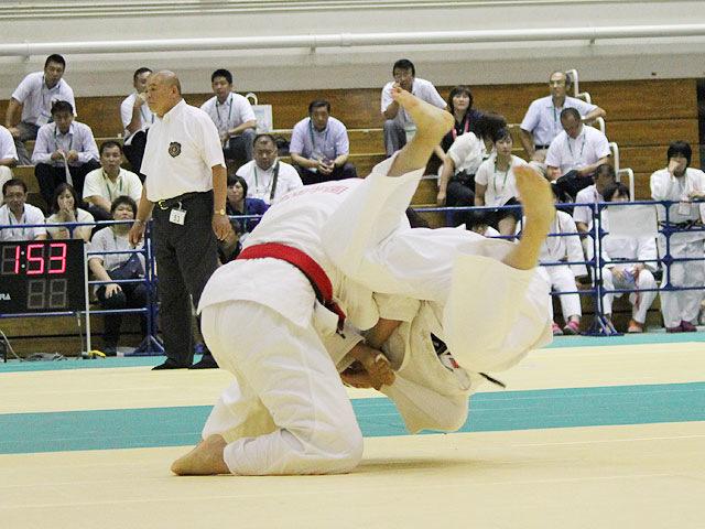 63kg級 津金恵 vs 安沙好