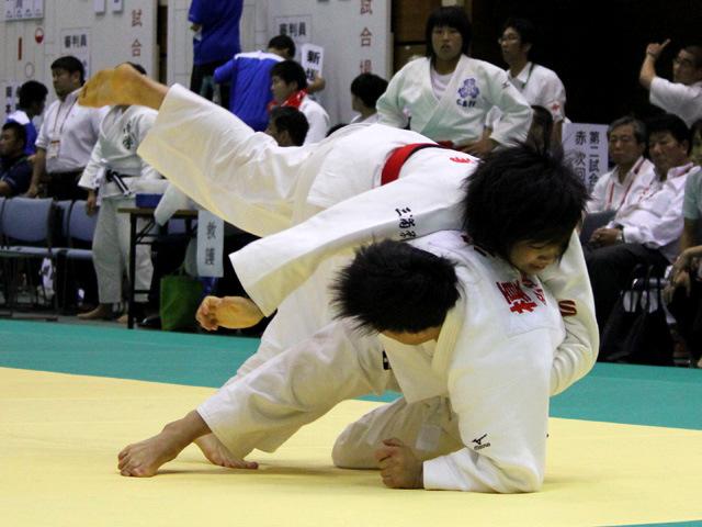 70kg級 佐俣優依 vs 榎谷ともみ