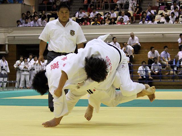 78kg級 堀歩未 vs 佐藤杏香
