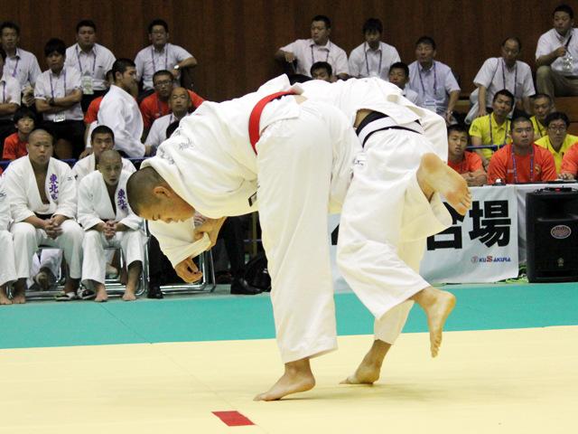 男子団体1回戦 東北高校vs長崎日本大学高校
