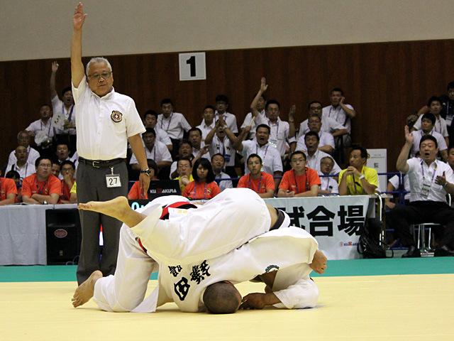 男子団体2回戦 作陽高校vs天理高校�D