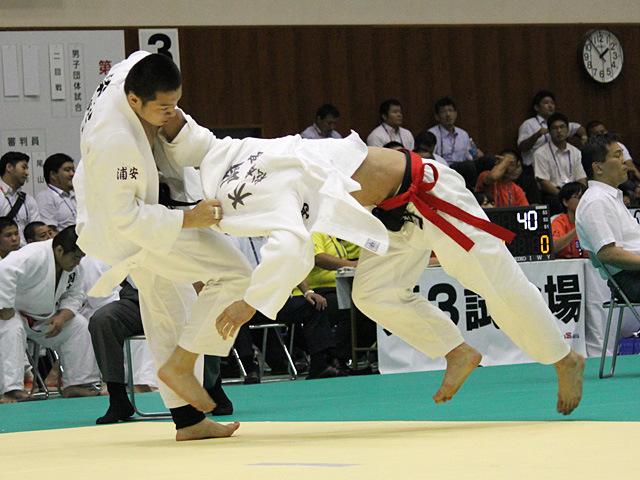 男子団体3回戦 松本第一高校vs東海大学付属浦安高校�C
