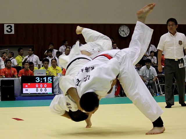 90kg級 染谷涼央 vs 大石大次郎