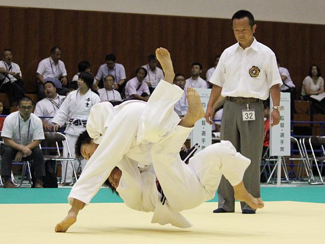 52kg級 福添みのり vs 前田千島