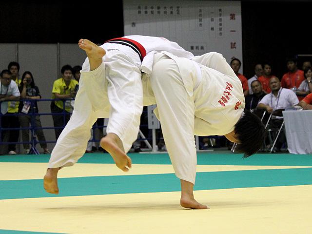 70kg級 渡辺聖未 vs 池絵梨菜