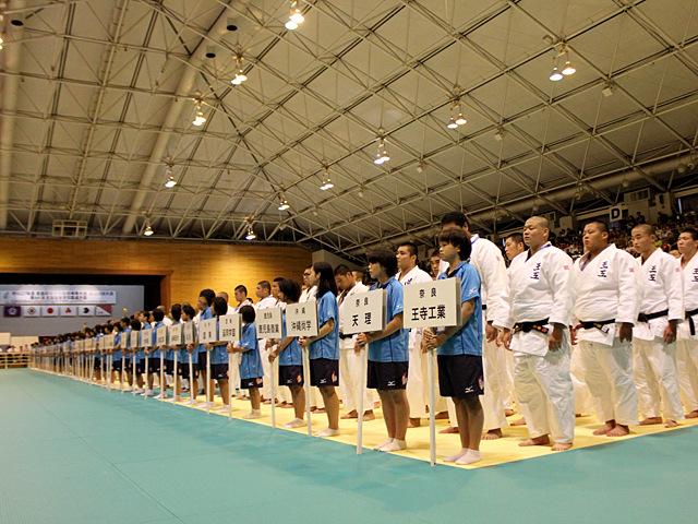 大会レポート「平成27年度全国高校総体 柔道競技開幕」