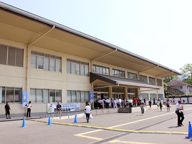 大会会場 天理大学杣之内第一体育館