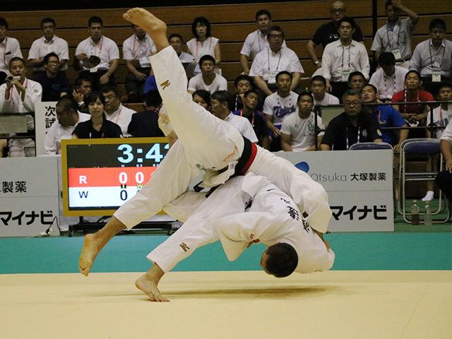 73kg級 渡邊神威 vs 大吉賢