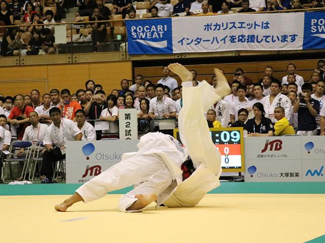 90kg級 長井晃志 vs 森部篤知